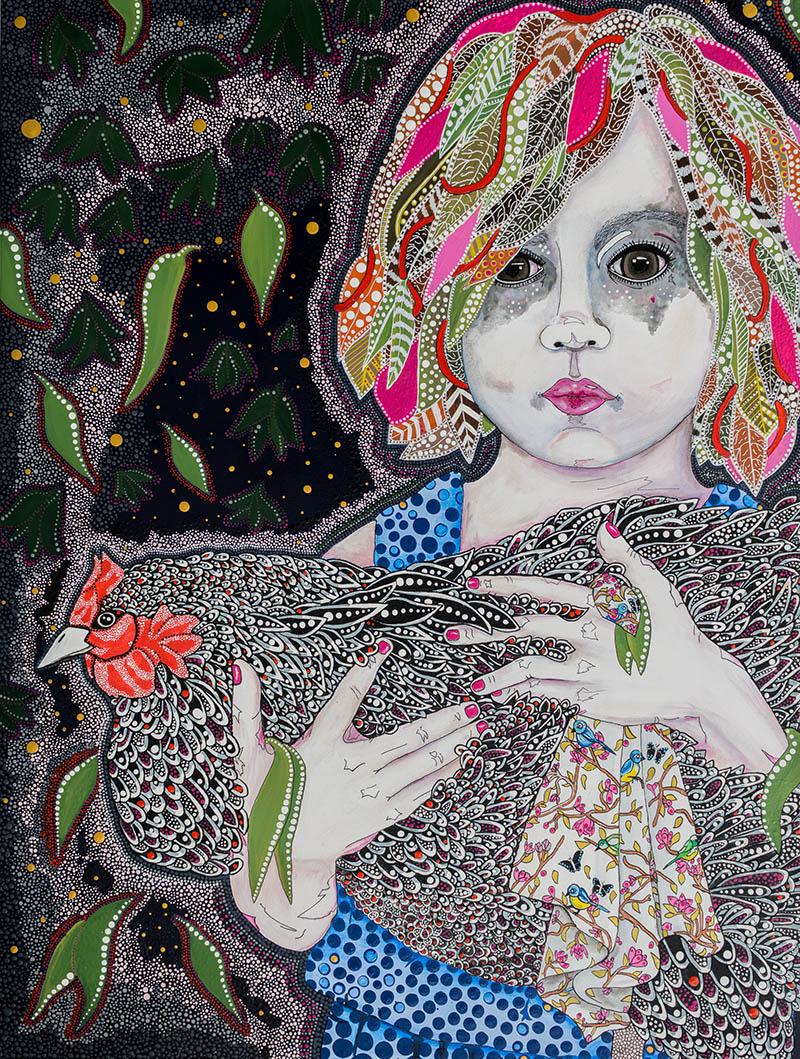 sally-paxton-my-delilah-67x87cm-acrylic-on-canvas800